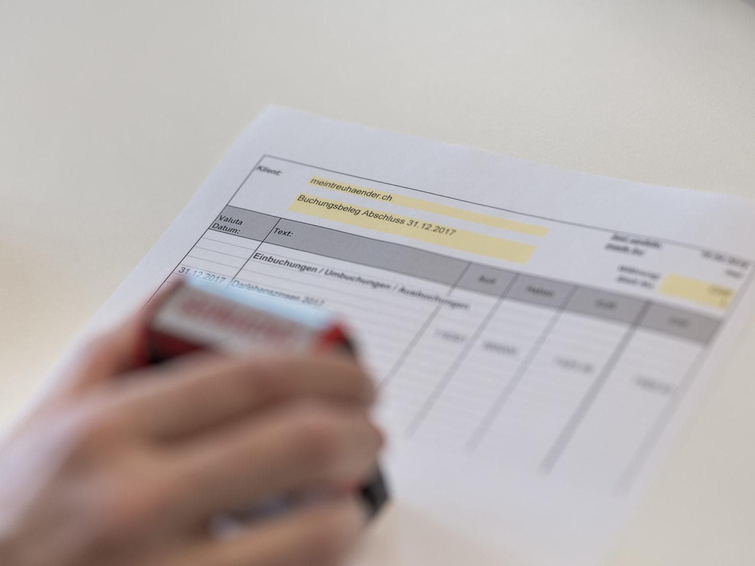Accounting - MHN Treuhand AG